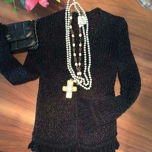 Chanel Ribbon Cardigan